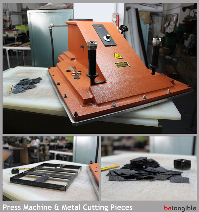press machine metal cutting pieces HOW TO make a Leather Item <br>Chapter 2: Leather Cutting