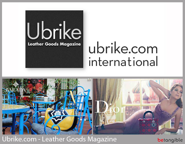 ubrike leather goods magazine Ubrike.com International, Leather Goods Magazine