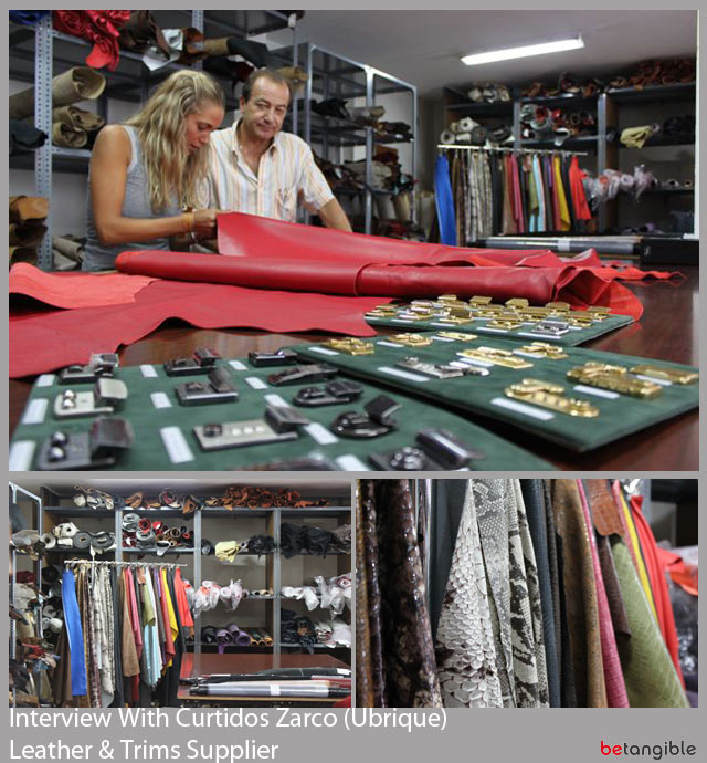 interview with curtidos zarco leather trims supplier1 Interview with… Cristina Rubiales, Curtidos Zarco, Leather and Metal trims supplier