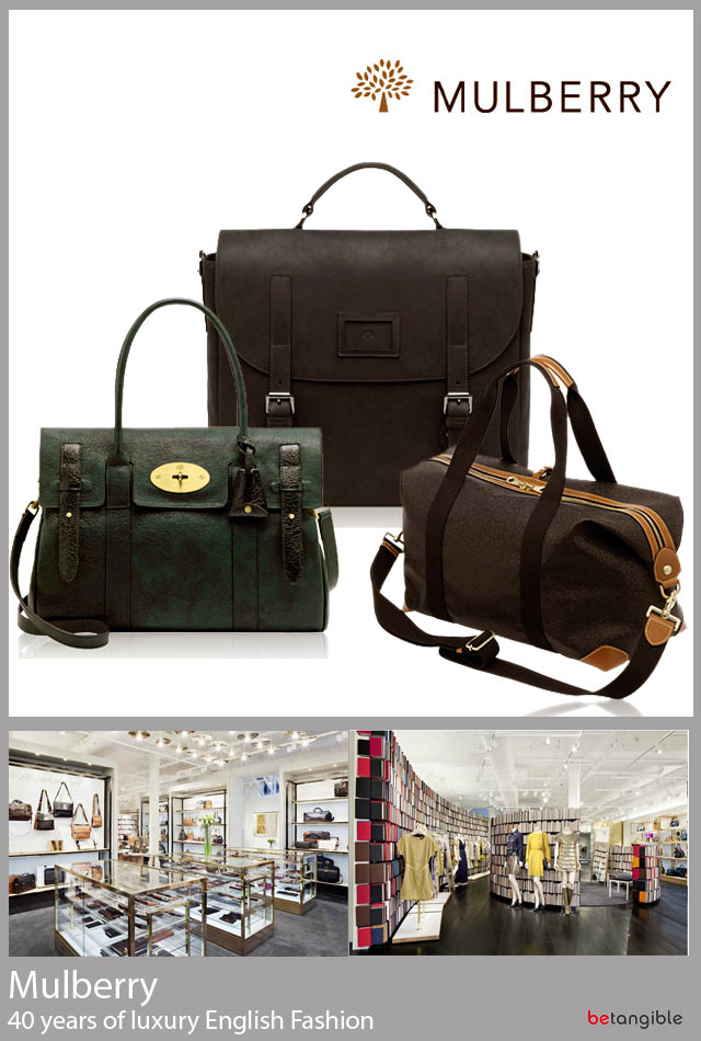 mulberry 40 years luxury english fashion Mulberry, 40 years of Luxury English Fashion