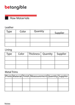 product sheet 2 How to structure a Product Sheet