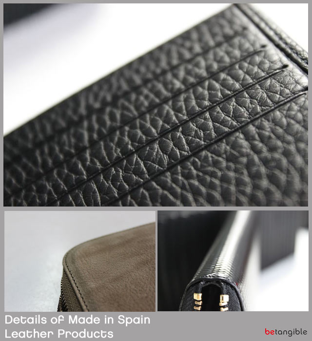 "details of made in spain leather products Is this leather?...or… Is it not?. The ""advantage"" of ignorance"