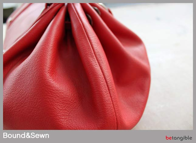 Bound Sewn Types of Stitching… How to make a leather item