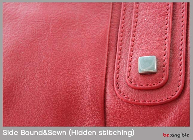 Side bound sewn hidden leather stitching Types of Stitching… How to make a leather item