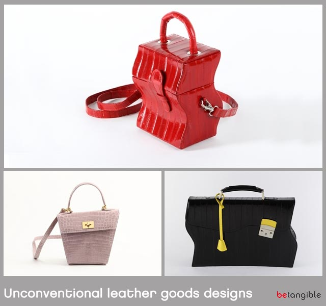 Unconventional leather goods designs 1 Unconventional leather goods designs... Leather Goods that we Delight