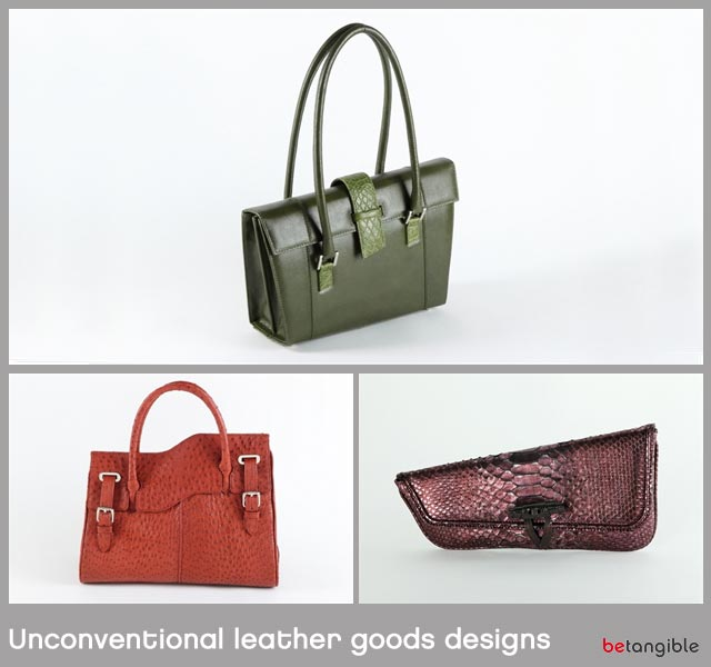 Unconventional leather goods designs 2 Unconventional leather goods designs... Leather Goods that we Delight