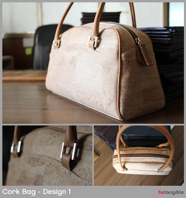 cork bag design 1 Cork Bags… Versatile Natural Material for Fashion Accessories