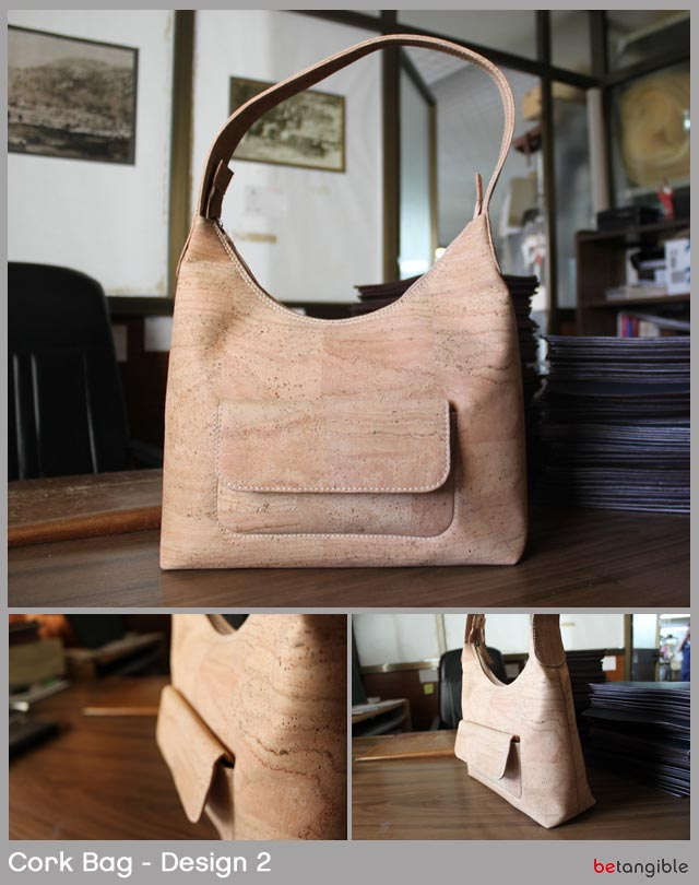 cork bag design 2 Cork Bags… Versatile Natural Material for Fashion Accessories