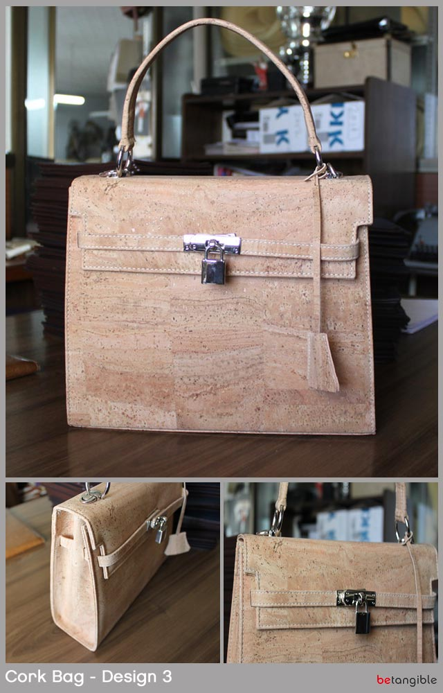 cork bag design 3 Cork Bags… Versatile Natural Material for Fashion Accessories