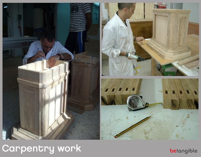 training workshop carpentry work Leather & Wood… Strengthening Bonds