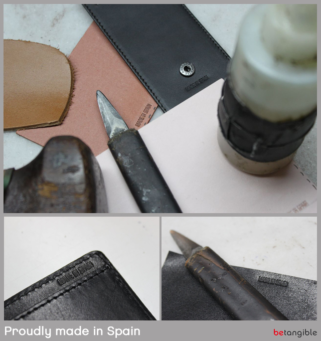 proudly made in spain leather products - figures export